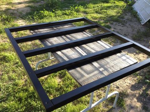 DIY: Chevron Ikea Kura Bed Hack (3/6)