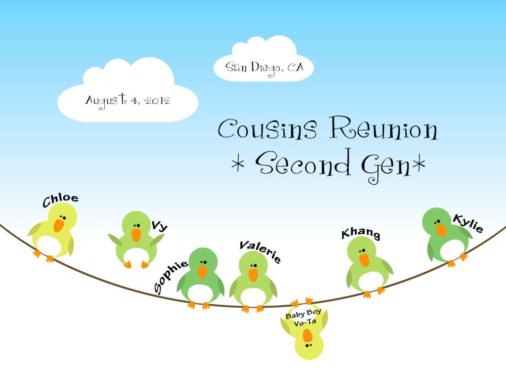 Our Mega Cousin Reunion (3/6)