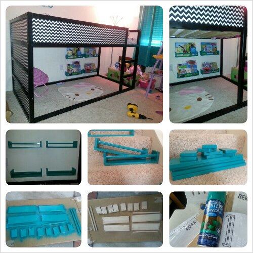 DIY: Ikea Spice Rack Bookshelf Hack | mommyneurotic