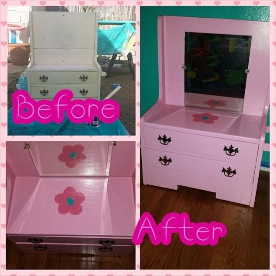 Cecilia's vanity dresser